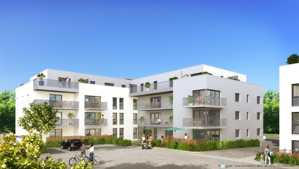Programme immobilier neuf c ur emeraude chartres de for Chartres de bretagne piscine