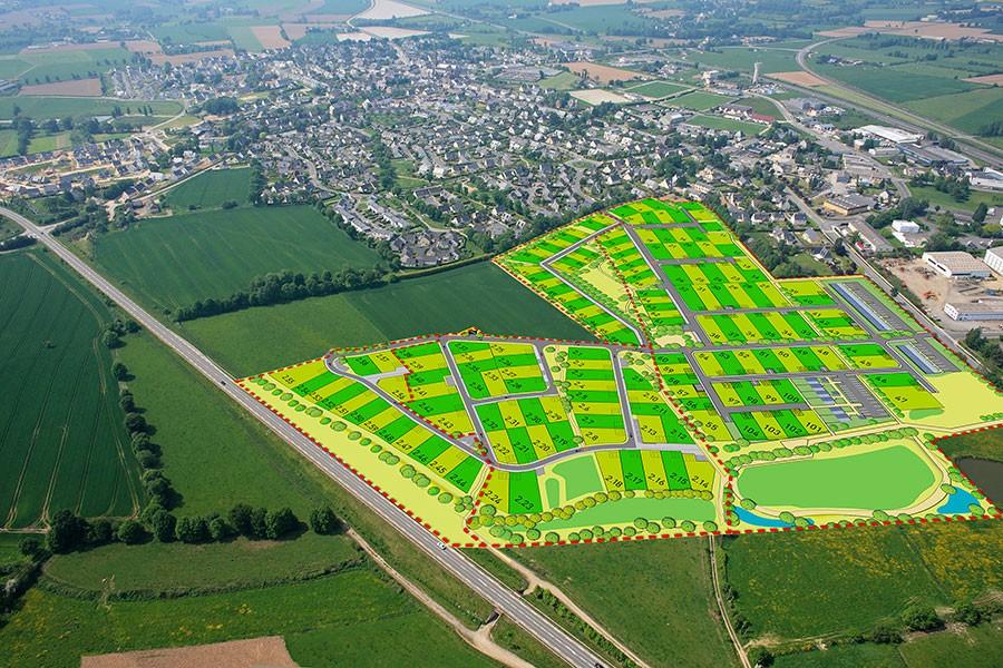 Nouvelle offre de terrains à bâtir à Bédée