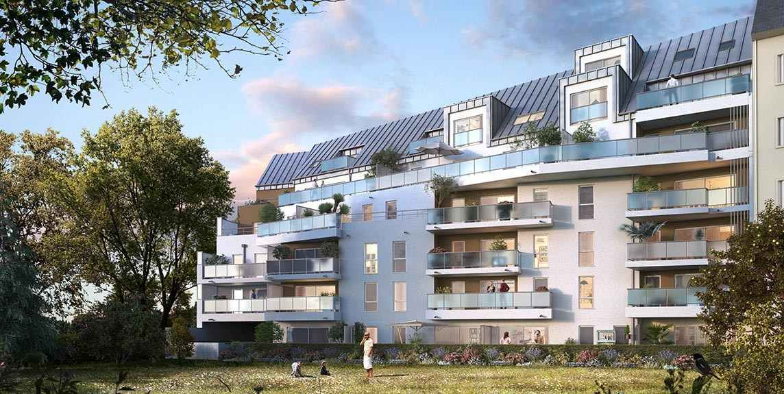 Programme immobilier neuf agora rennes 35 groupe launay for Programme appartement