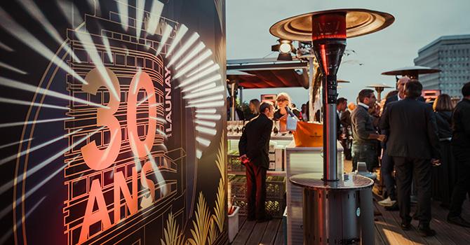 Vendredi 6 septembre dernier, le Groupe LAUNAY a fêté ses 30 ans, en compagnie de Feder, DJ de renommée internationale, à l'occasion de la soirée DJ on the Top.