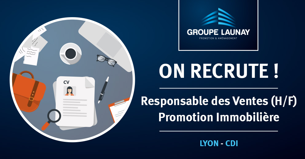 Le Groupe Launay recrute un responsable des ventes à Lyon
