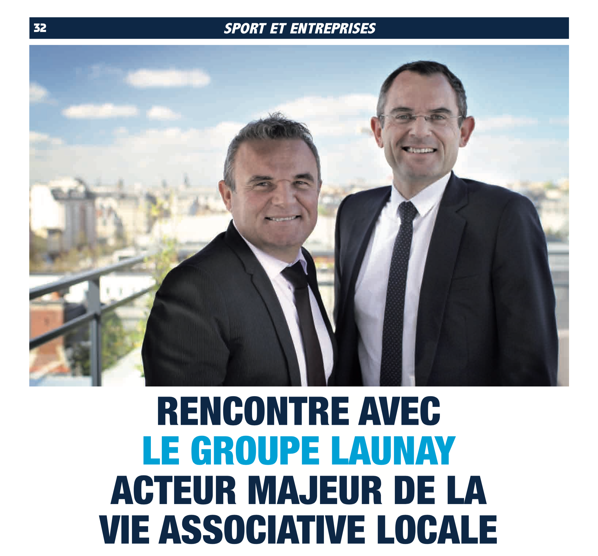 Interview de Franck Launay dans Rennes Sport