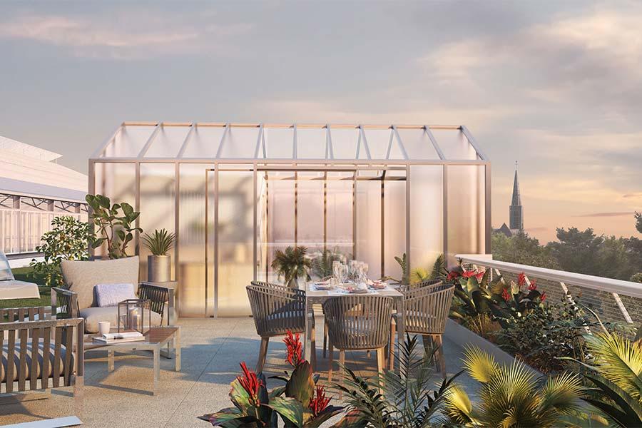 Utopia Bruz serre Groupe Launay