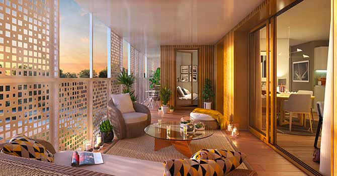 Westwood, nouveau programme immobilier neuf à Chantepie - Groupe Launay