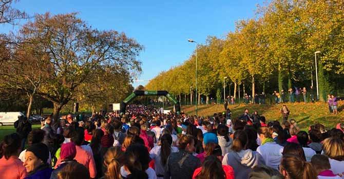 Marathon Vert - Départ Féminine Yves Rocher 2018 - Groupe Launay
