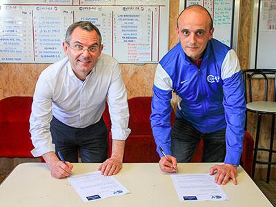 Le Groupe Launay renouvelle son engagement auprès du CO Pacé Football