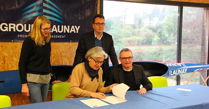 Signature convention CKCIR Saint Grégoire Groupe Launay Décembre 2018
