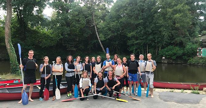 soirée kayak CKCIR et Groupe Launay