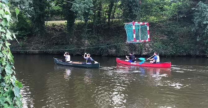 Balade kayak CKCIR et Groupe Launay - septembre 2018