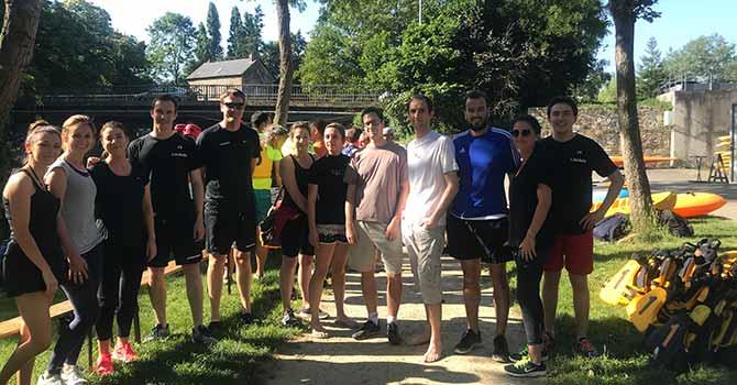 team Groupe Launay Tournoi Kayak Polo CKCIR