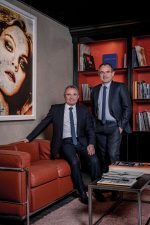 Franck et Jérôme