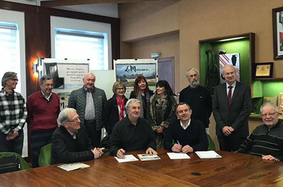 Le Groupe Launay poursuit son engagement pour la restauration de la ferme-manoir de la Marionnais à Chartres-de-Bretagne