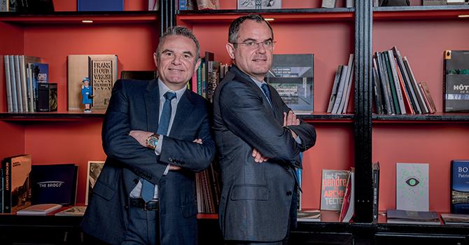 Franck et Jérôme LAUNAY